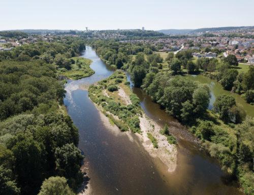 Parc naturel inondable de la confluence Moselle/Canal à Épinal